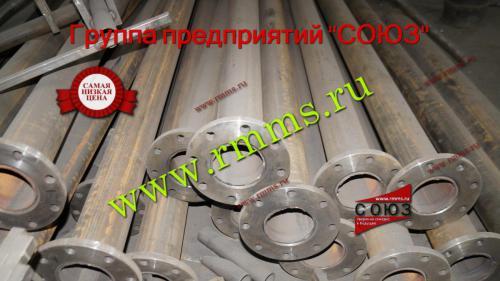 опора трубчатая прямостоечная стальная